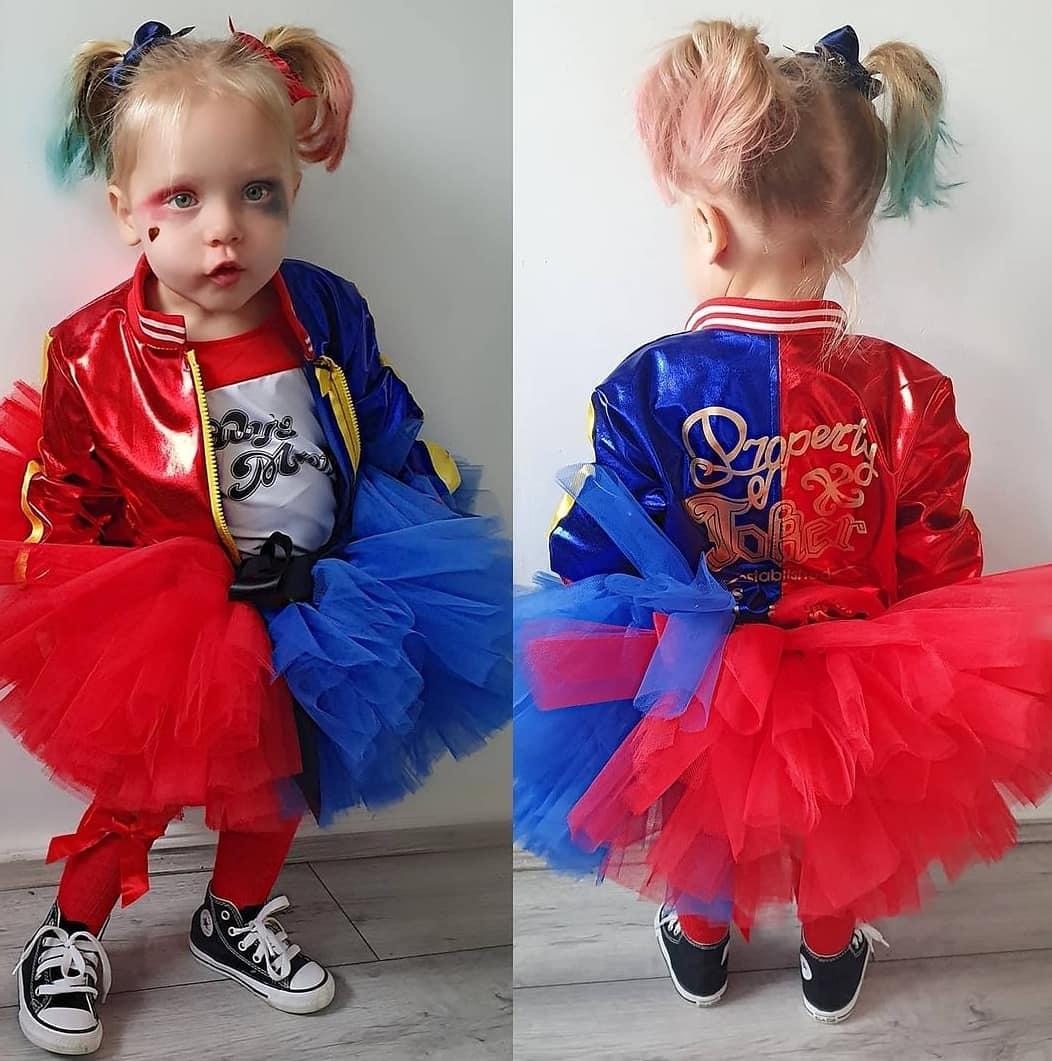 Cute toddler costumes harley quinn