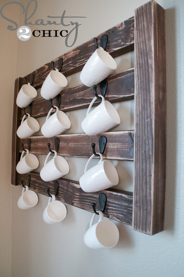 Diy coffee cup display