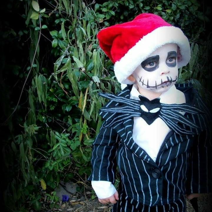 Diy toddler boy costume jack skellington
