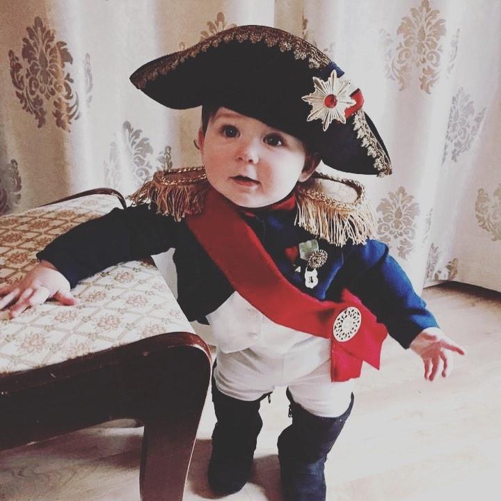 Diy toddler boy halloween costume napoleon