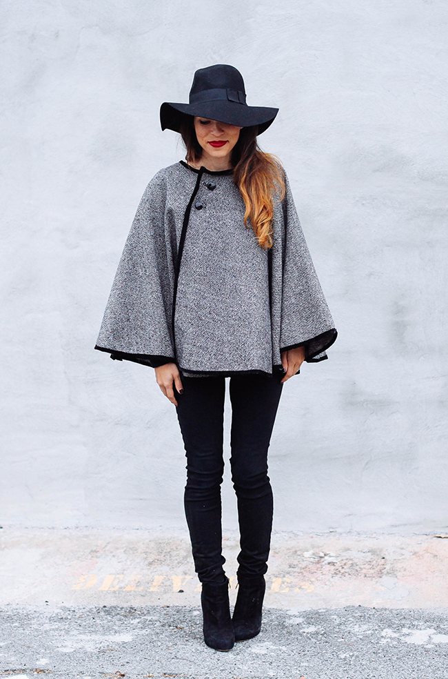 Diy wrap cape in honor of design