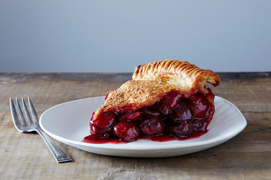 Deeph dish cherry pie