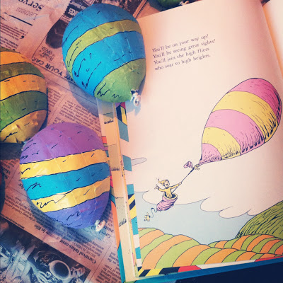 Dr seuss style hot air balloons