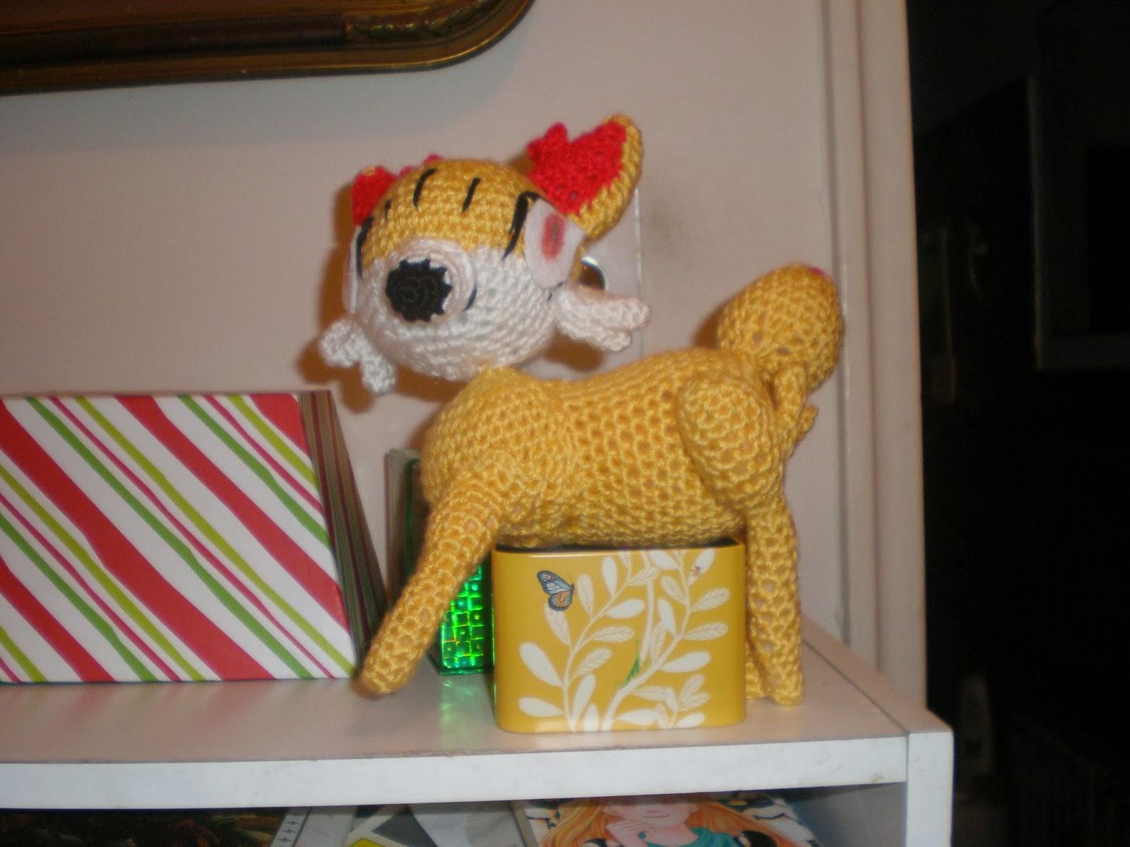 Fennekin diy crochet