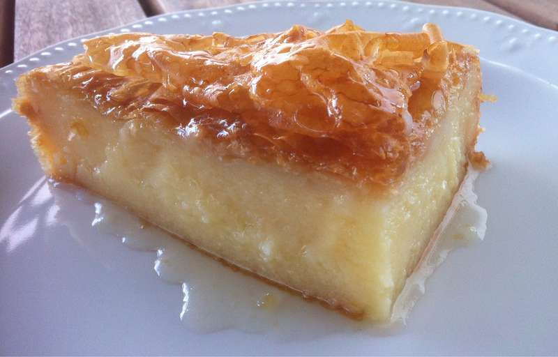 Galaktoboureko greek custard pie with syrup1 800x512