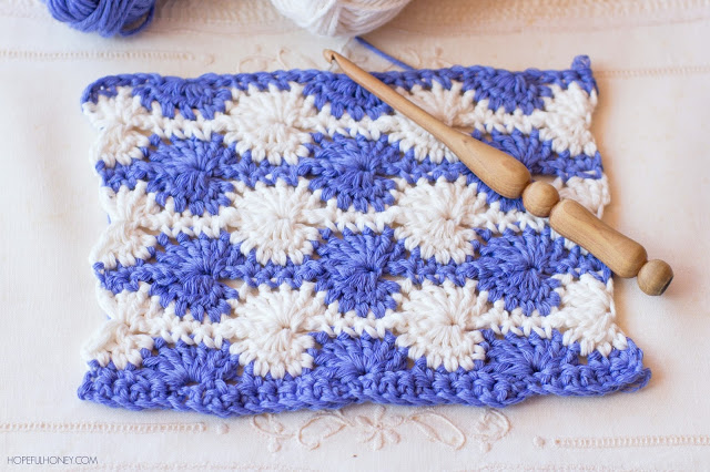 How to crochet the catherine wheel stitch