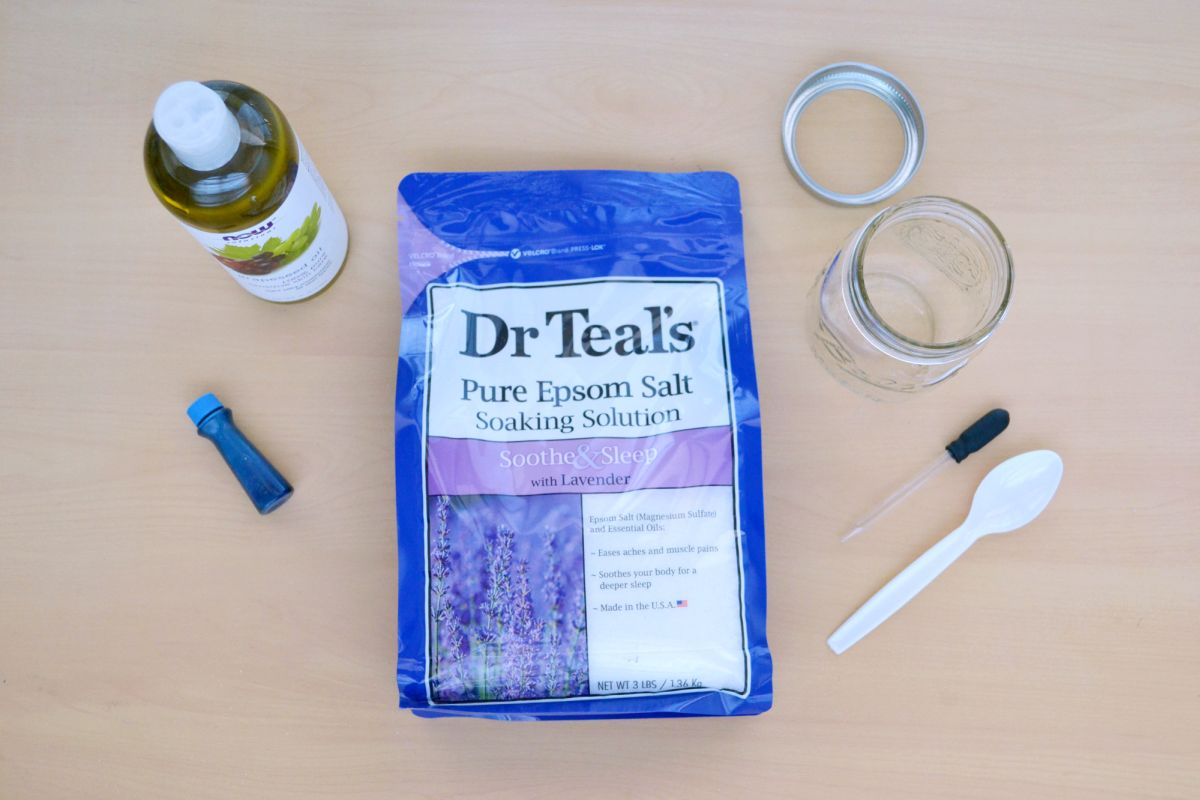 How to make your own body scrub supplies