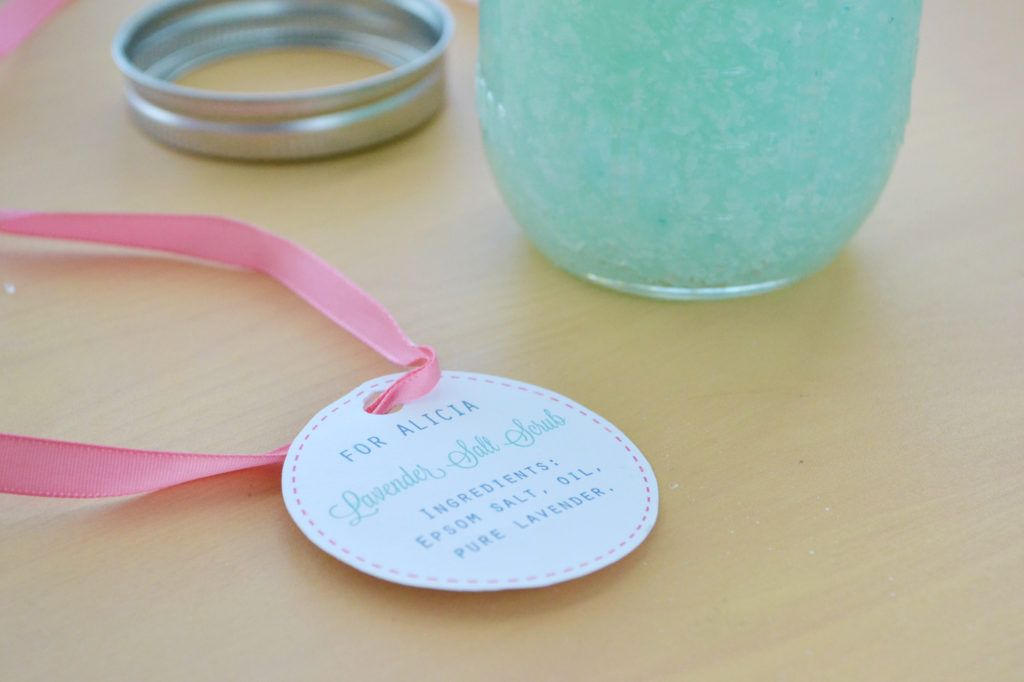 How to make your own body scrub tag