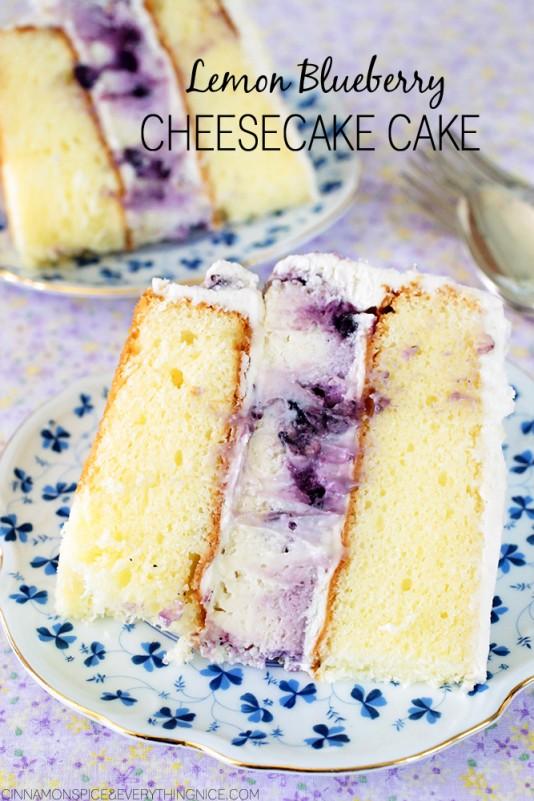 Lemon blueberry cheesecake cake 534x801