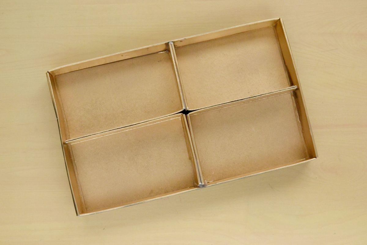 Makeup drawer dividers boxed