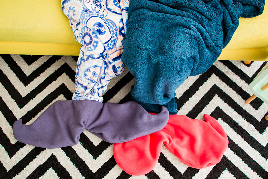 Mermaid blankets diy