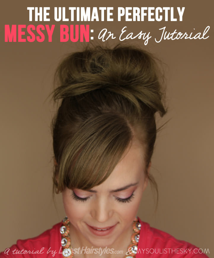 Messy bun ideas for all kinds of occasions messy bun tutorial solutioingenieria Gallery