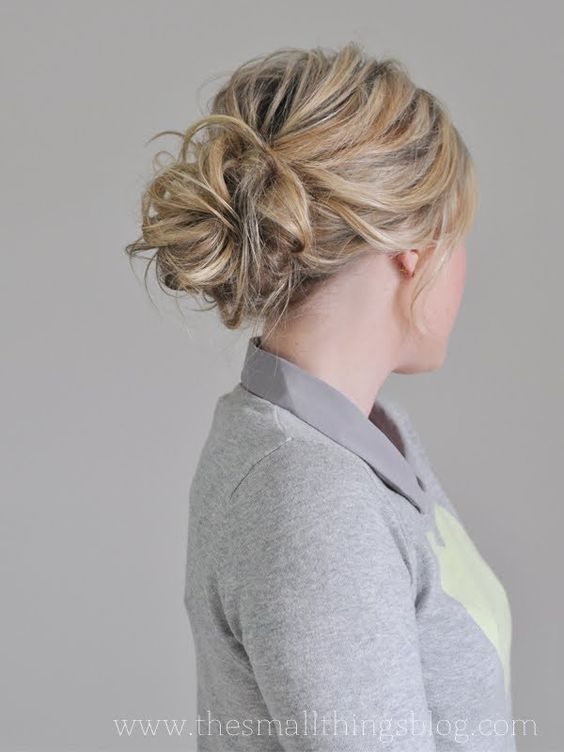 Mesy bun tutorial