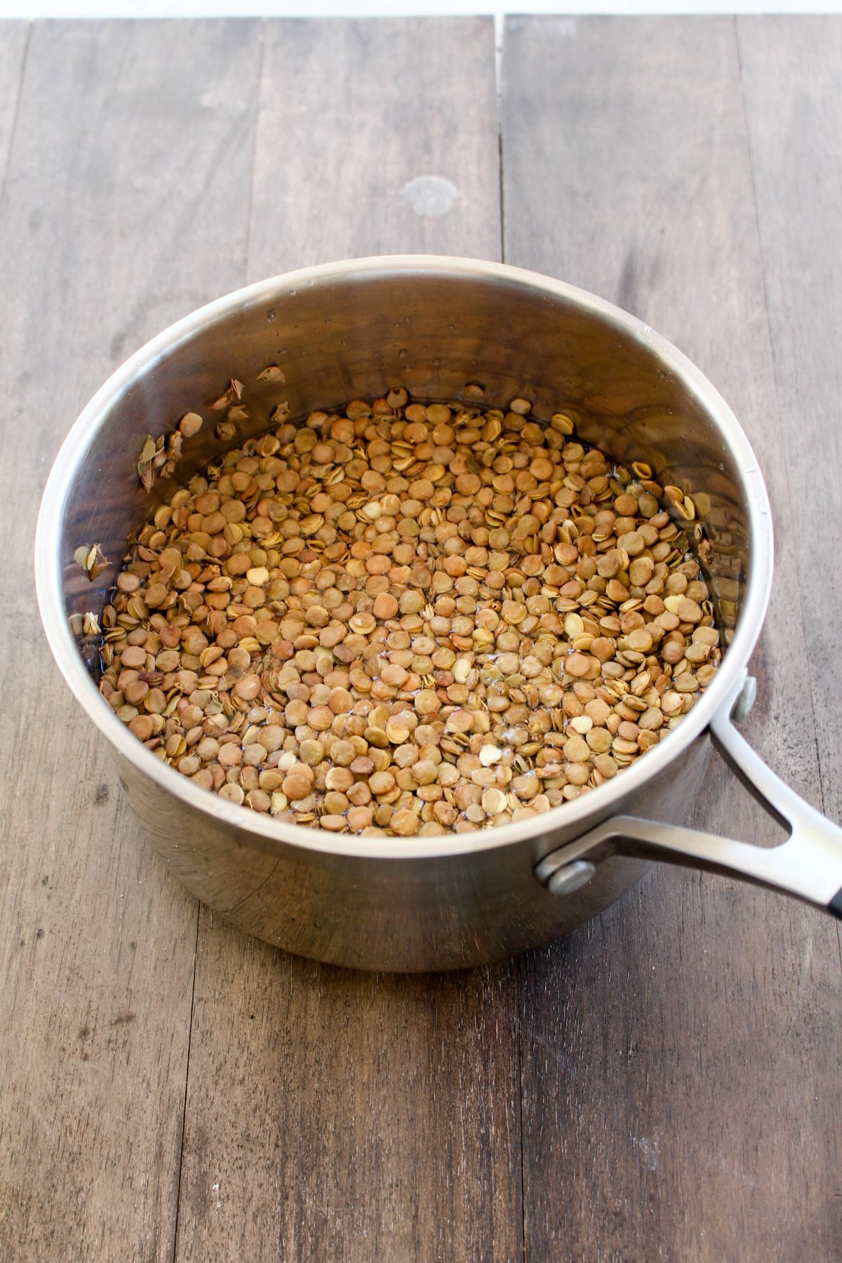 Moroccan lentil salad lentils