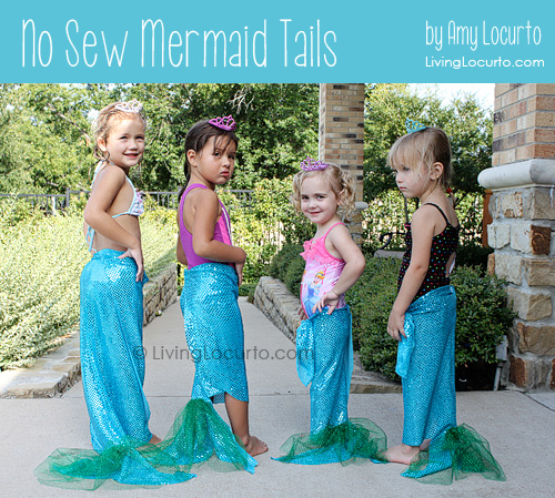 No sew mermaid tails