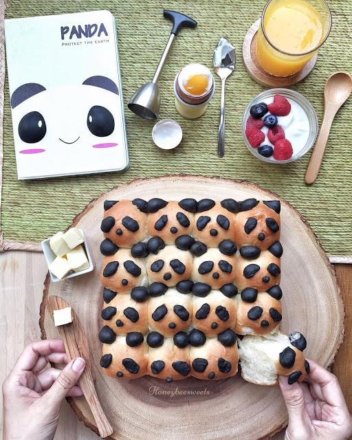 Panda buns recipe