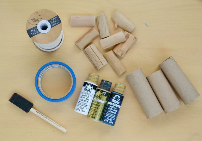 Roped napkin rings supplies