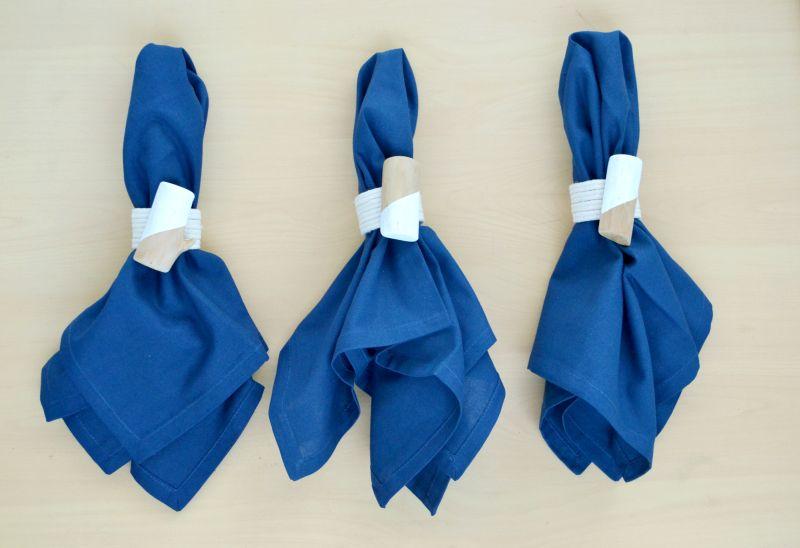 Roped napkin rings