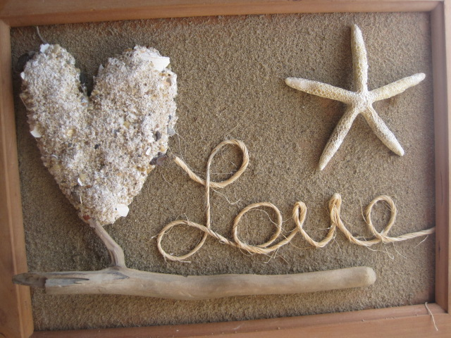 Rustic 3d sand picture
