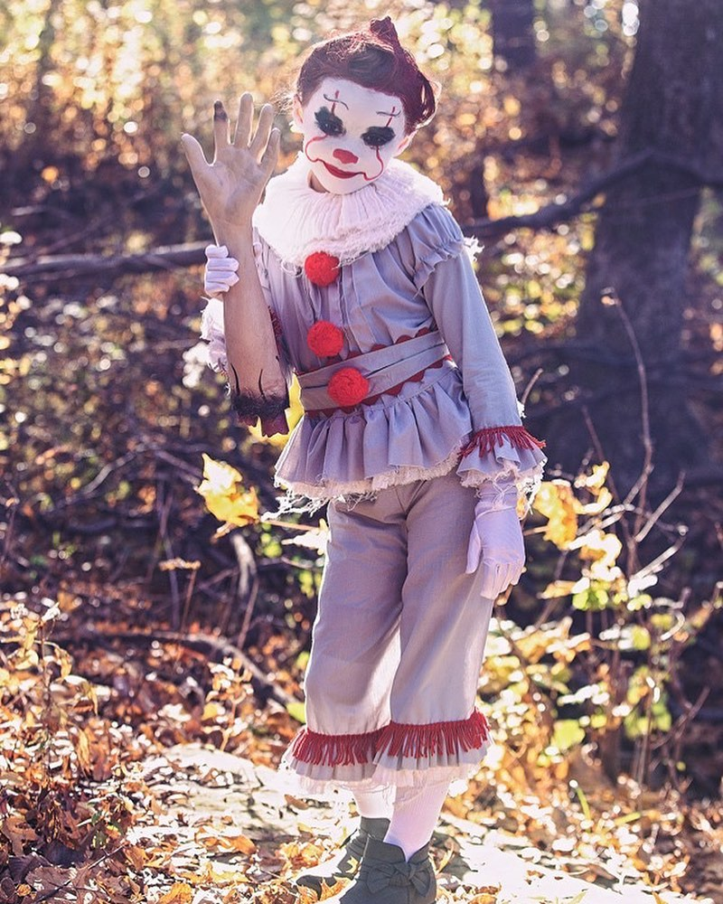Toddler pennywise costume