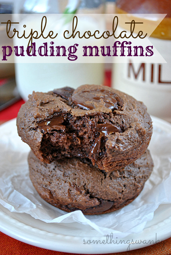 Triple chocolate pudding muffins jpg