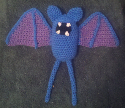 Zubat crochet diy