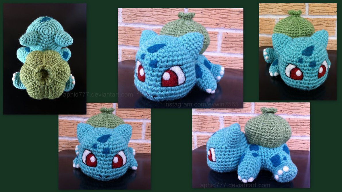 The BEST EVER Pokemon Go Crochet Amigurumi Pattern List | Pokemon ... | 670x1191