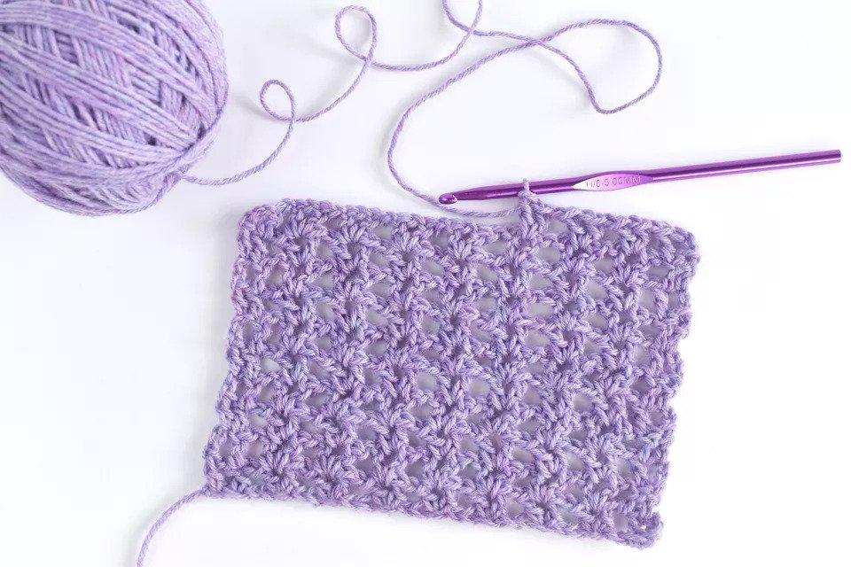 Basic v stitch