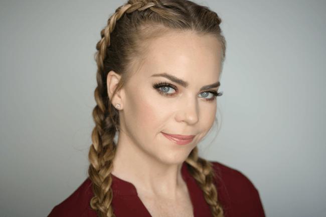 Bronze eyeshadow makeup tutorial