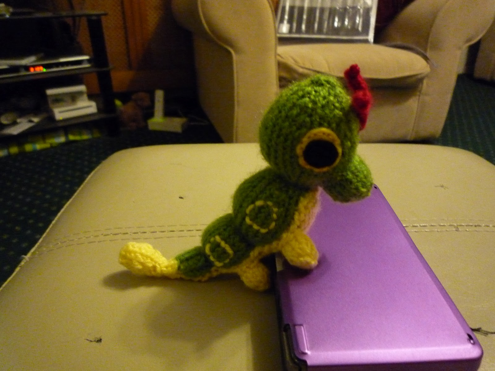 Caterpie crochet pattern