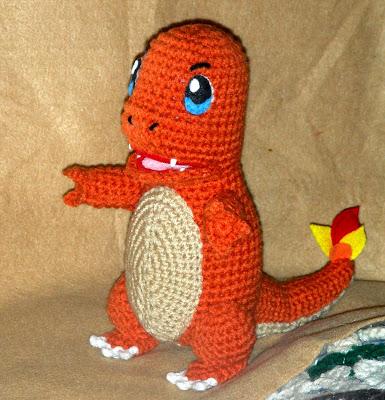 Chamander diy crochet