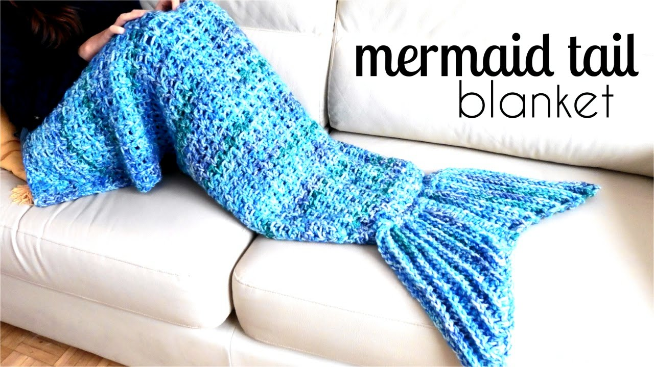 Crochet mermaid tail diy