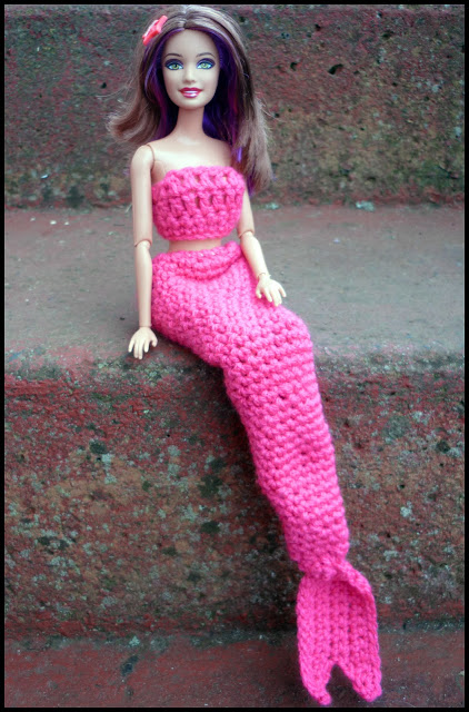 Diy barbie mermaid tail
