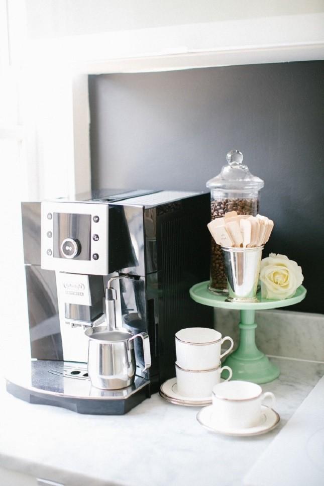 Diy coffee storage idea