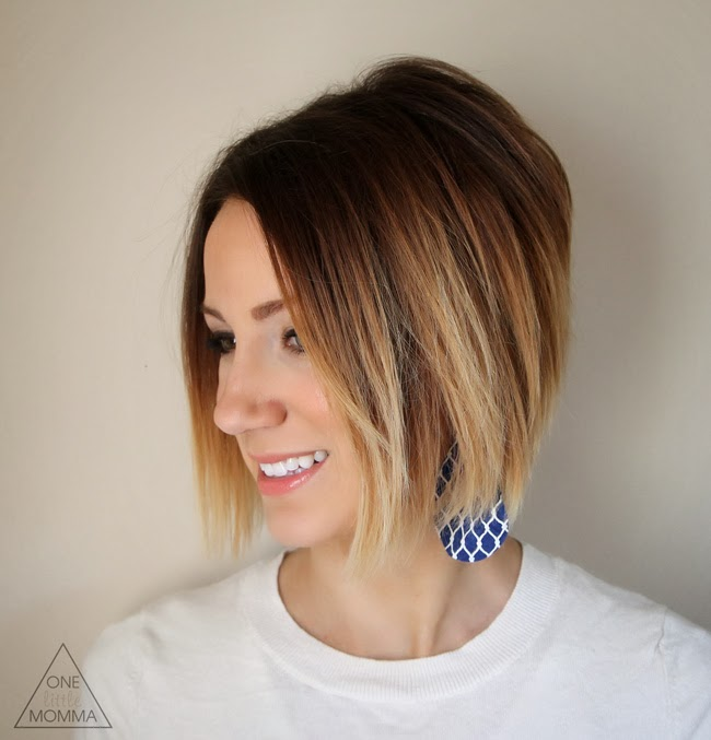 Diy ombre on short hair
