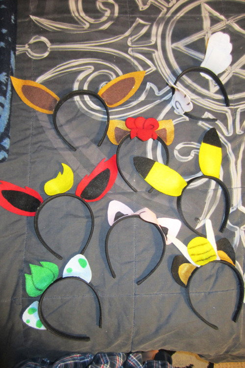 Diy pokemon headbands