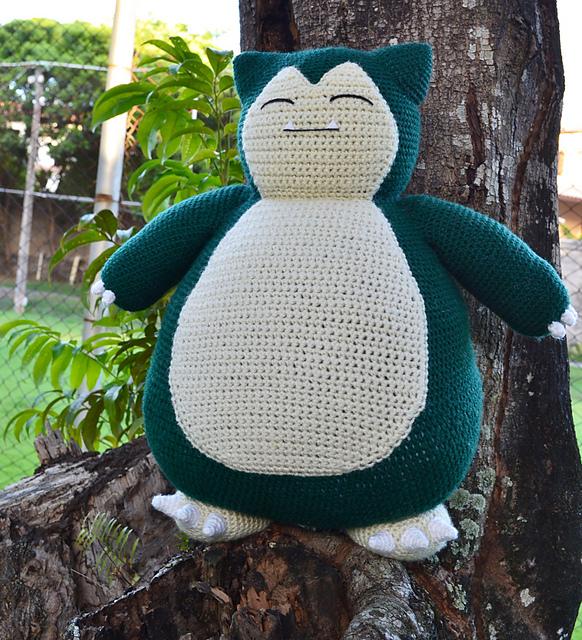 Diy snorlax crochet