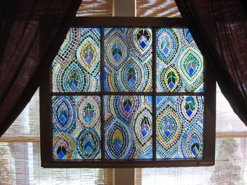 Diy stained glass mosaic