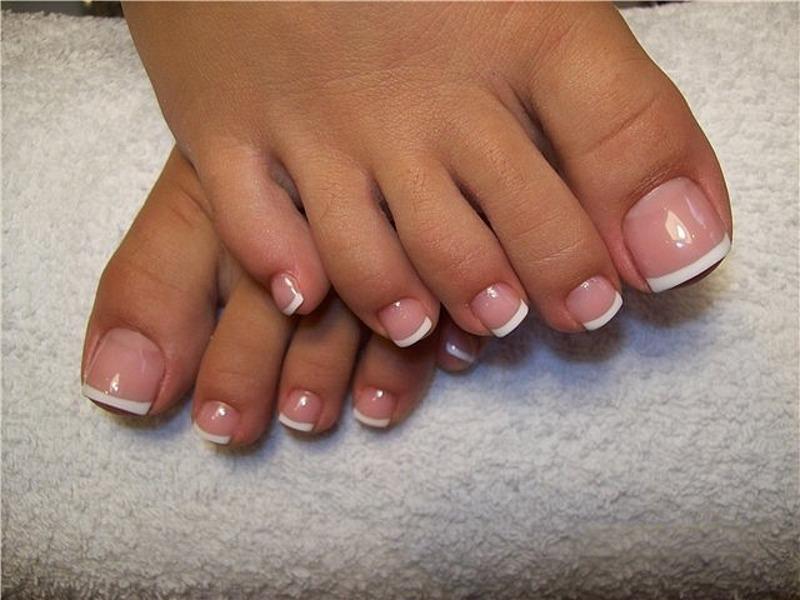 Easy Clean White Diy Toe Nail Art Polishes 108995