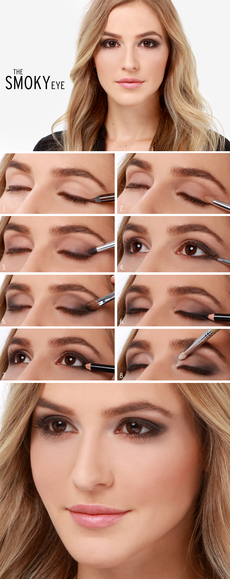 Fall smokey eye tutorial