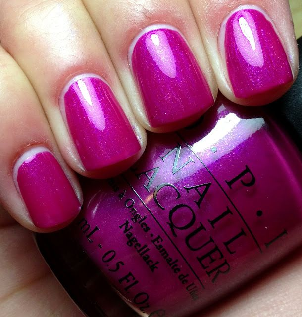Fuschia nail color