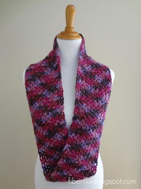 Gelato crochet infinity scarf