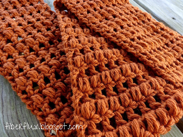 Ginger snap crochet infinity scarf tutorial