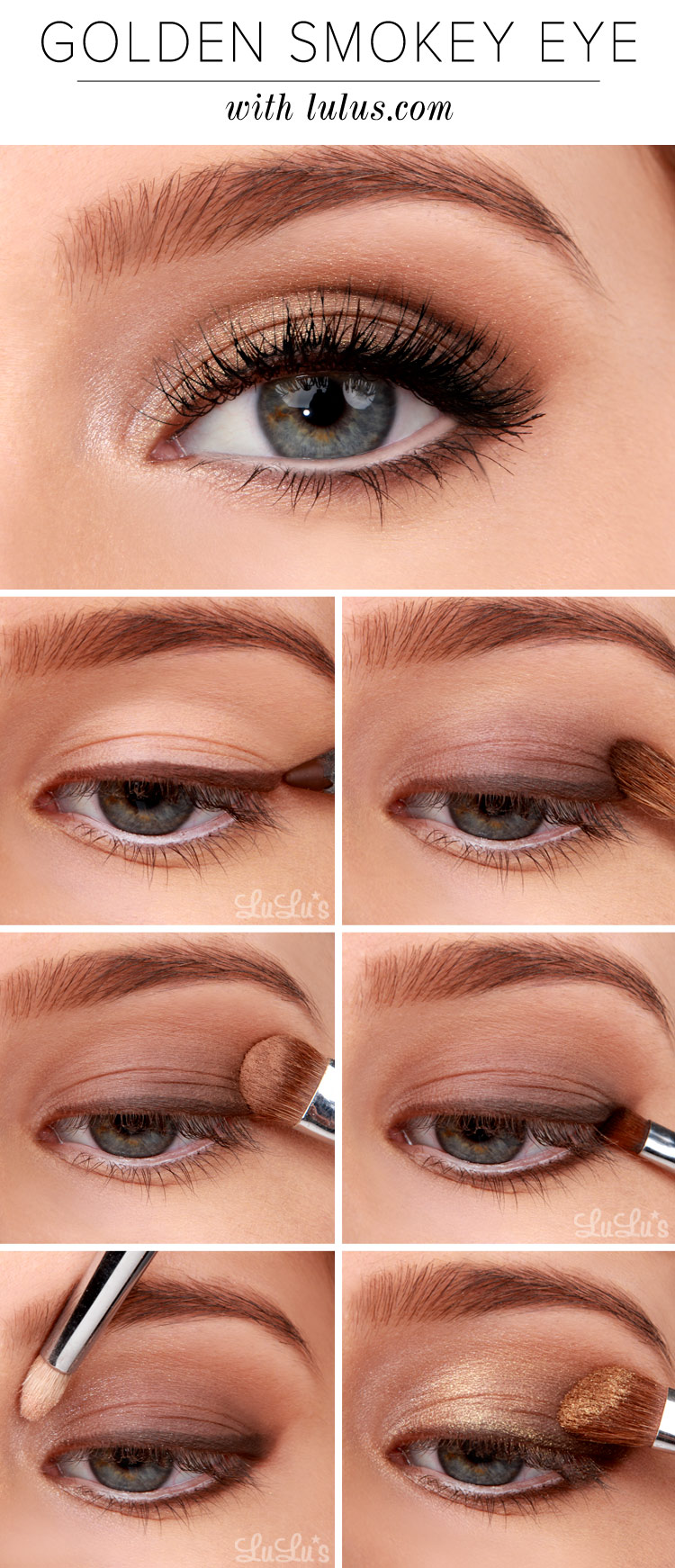 Bronze smokey eye tutorial | missy sue.