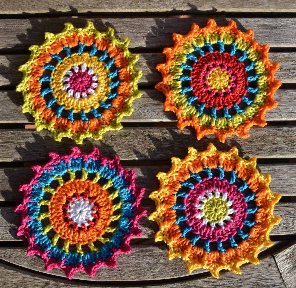 Free crochet coaster patterns for every occasion jedburgh coaster bankloansurffo Choice Image