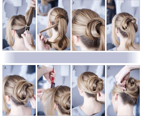 48 messy bun ideas for all kinds of occasions messy bun tutorial urmus Gallery