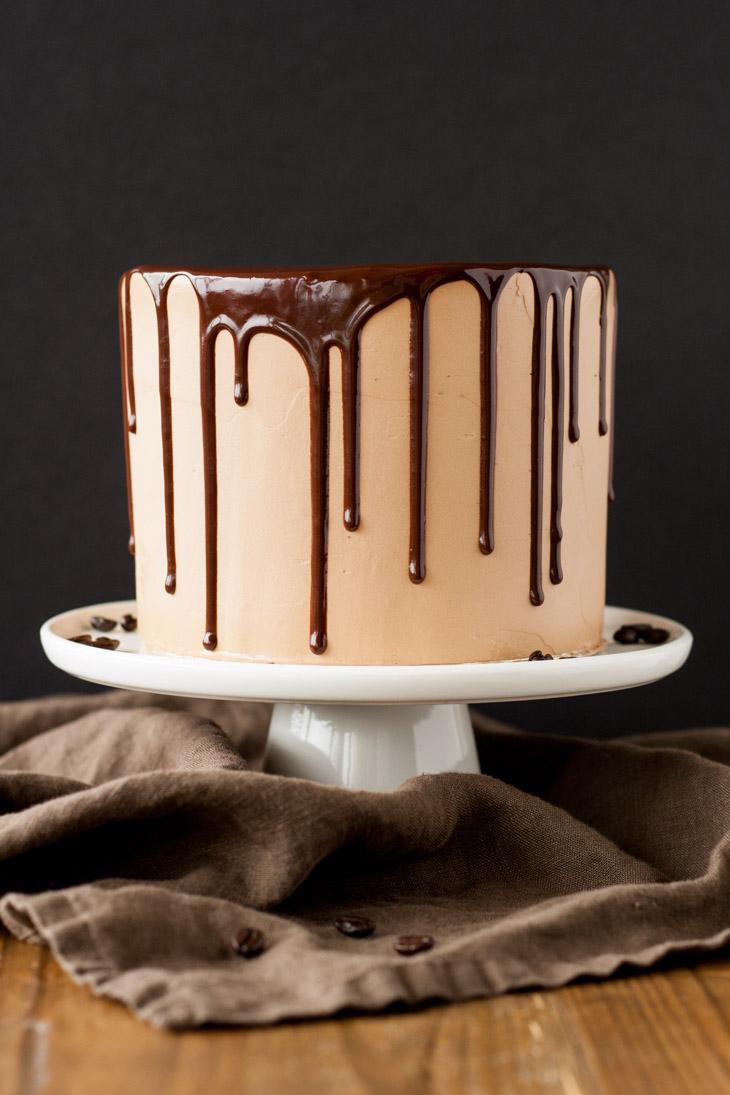 Mocha cake black 1