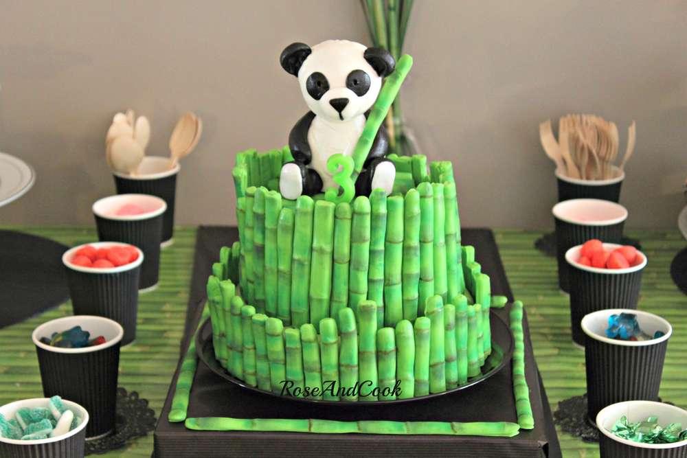 Panda cake idea