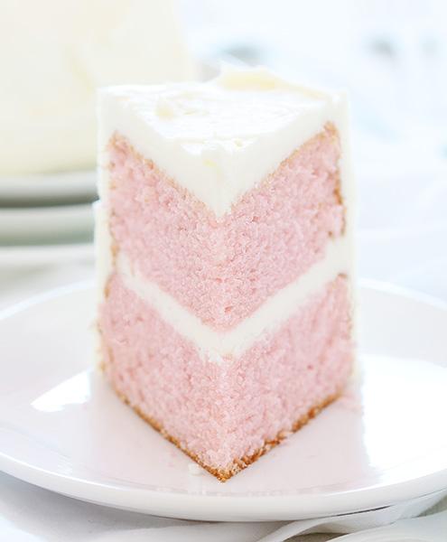 Pink velvetcake