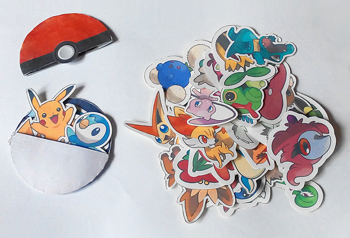 Pokemon printable diy